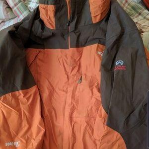 Mens northface goretex jacket xl